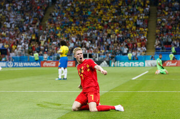 Belgique - Brésil (2-1)