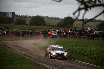 Rally in de Ardennen