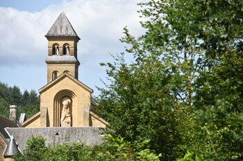 Tournage à l'Abbaye d'Orval
