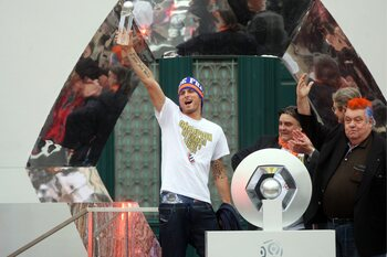 Giroud, tête de gondole des champions