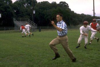 Forrest Gump dans le film du même nom