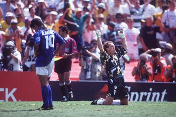 Baggio futur ballon d'or mais déchu aux tirs au but