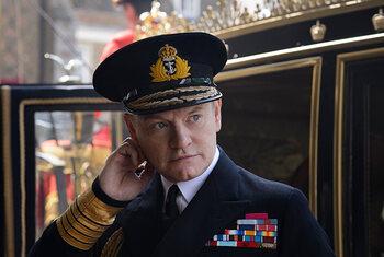 Jared Harris als Koning George VI