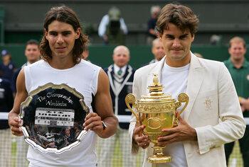 Epische strijd met Rafael Nadal