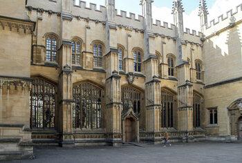 De universiteitscampus van Oxford