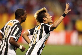 Neymar betovert Flamengo-defensie