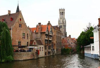 De kanalen van Brugge