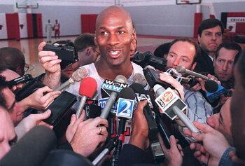On this day: Michael Jordan annonce son retour en NBA