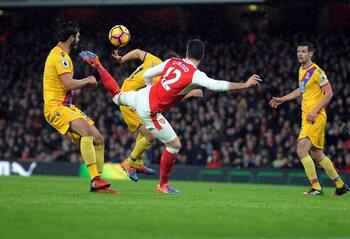 One day, one goal: l'aile de pigeon improbable de Giroud contre Crystal Palace