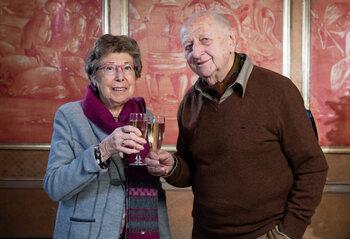 Annie Geeraerts, 'de Bomma' uit 'Familie', wordt 95