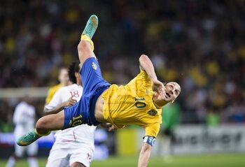 Zlatan Ibrahimovic vs. Angleterre