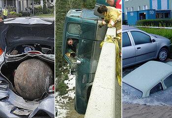Les accidents les plus incroyables