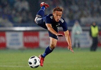 De sterren van de selectie: Keisuke Honda, 'Keizer Keisuke'