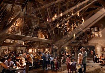 Harry Potter, Les Trois Balais