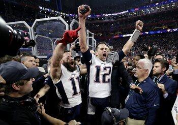 3 februari - Tom Brady, nummer 6!