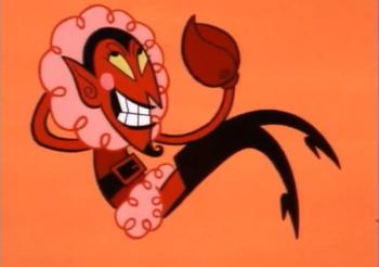 1. 'Hem' was eigenlijk de duivel
