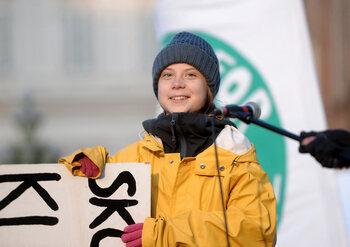 Vrijdag: Greta Thunberg: a year to change the world