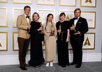 Carton plein pour 'Nomadland', la coproduction belge remporte 2 Oscars