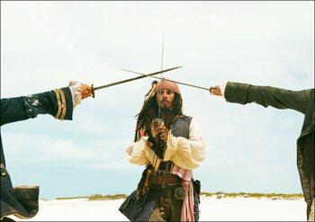 Jack Sparrow in (de eerste) Pirates of the Caribbean (2003)