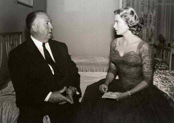 Amie et muse de Hitchcock