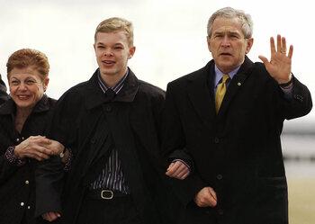 Gelauwerd door president Bush