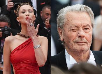 """Cannes : séquences """"gêne ou émotion"""" sur les marches"""