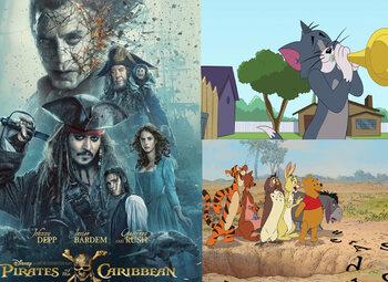 Regardez Pirates des Caraïbes : Les morts ne racontent pas d'histoires, Les aventures de Petit Gourou et Tom & Jerry Show avec l'option All Kids