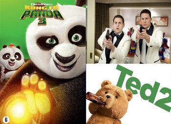 Choisissez votre film bonus d'avril avec votre Tuttimus ou Familus !
