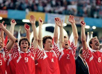 Legendarische wedstrijden: Denemarken verrast Nederland in de Europese Kampioenschappen van 1992