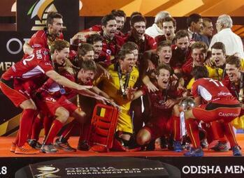 Présentation des « Red Lions », la meilleure équipe de hockey au monde