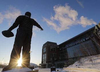 NFL: de Eagles in de koude toendra van Green Bay
