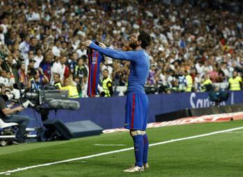 Les célébrations mythiques : Messi montre au Bernabeu qui est le patron