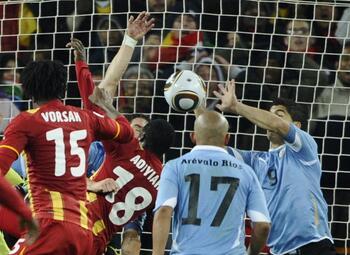 Les matchs de légende: le Ghana victime du miracle uruguayen