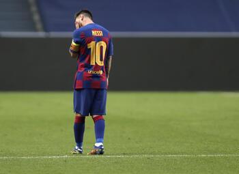 En wat als Messi toch bij Barcelona blijft?