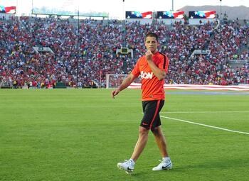 One day, One Goal: de opmerkelijke debuutgoal van Javier Hernandez bij ManU