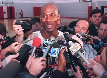 On this day: Michael Jordan kondigt zijn comeback in de NBA aan