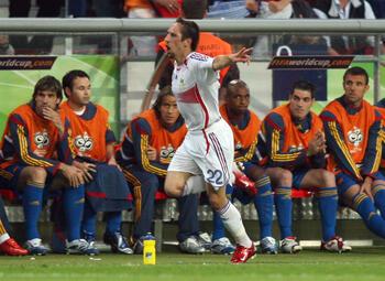One day, one goal: de dag dat Spanje Franck Ribéry ontdekte