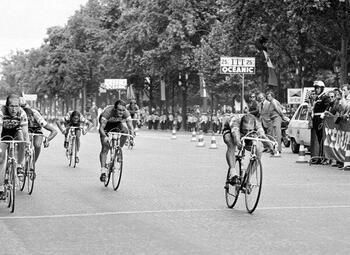 De Champs-Elysées, legendarische finish van de Tour de France