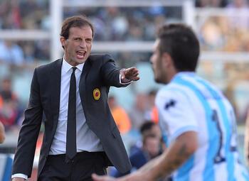 One day, one goal: Allegri laat de doelman van Atalanta kansloos met een kanonskogel