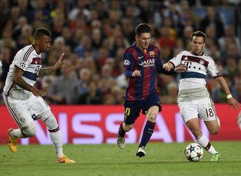 One day, one goal: de dag dat Lionel Messi Jérôme Boateng vernederde