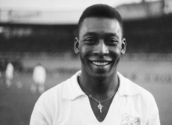 De dag dat Pelé een scheidsrechter van het veld liet sturen