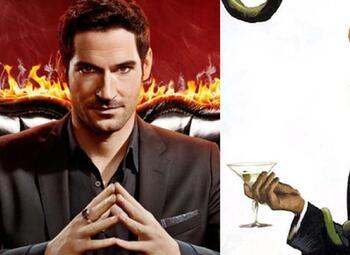 Lucifer: Comic vs serie