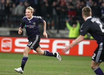 One day, one goal: kruisraket Jonathan Legear bekroont Europese topavond Anderlecht