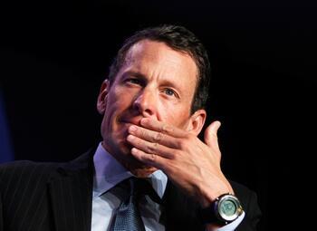 """Armstrong: """"Était-ce difficile de prendre de l'EPO après avoir fait face à la mort? Non"""""""