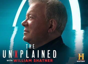 Nieuw op Pickx Live: The UnXplained with William Shatner