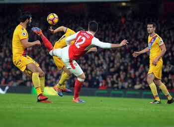 One day, one goal: l'aile de pigeon improbable de Giroud contre Crystal Palace