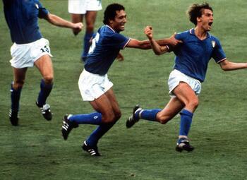 Les célébrations mythiques: l'explosion de joie de Marco Tardelli au Mondial 1982