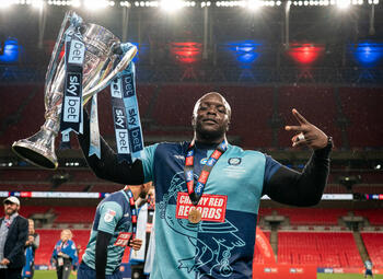 Nice to meet you... Adebayo Akinfenwa