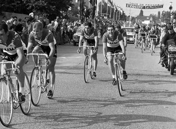 Eddy Merckx wint zijn eerste Ronde Van Frankrijk