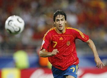 Les grands absents de l'Euro : Raúl manque l'Euro 2008